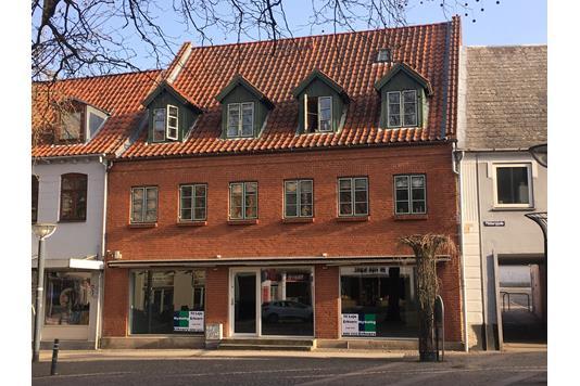 Kontor på Sct Hansgade i Ringsted - Facade