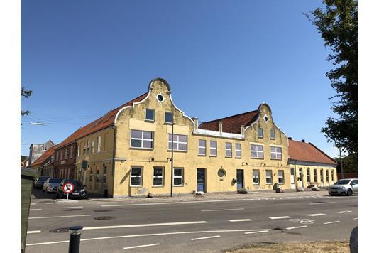 Projektejendom på Vestre Havneplads i Kalundborg - Ejendommen