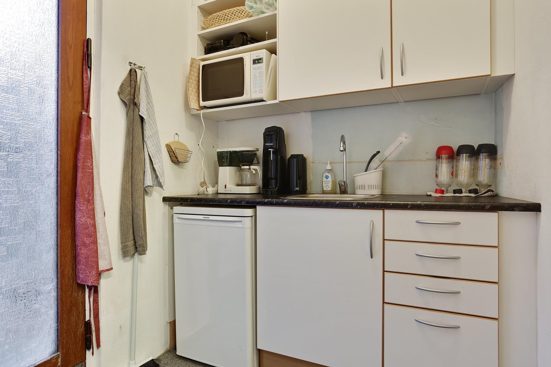 Bolig/erhverv på Sct Hansgade i Ringsted - Køkken
