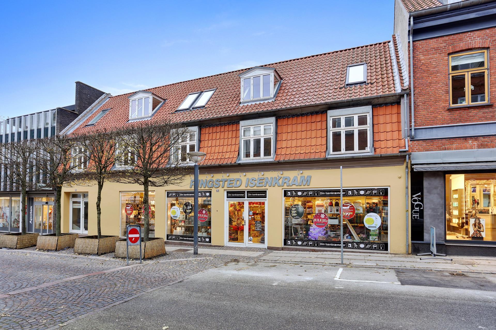 Bolig/erhverv på Sct Hansgade i Ringsted - Ejendommen