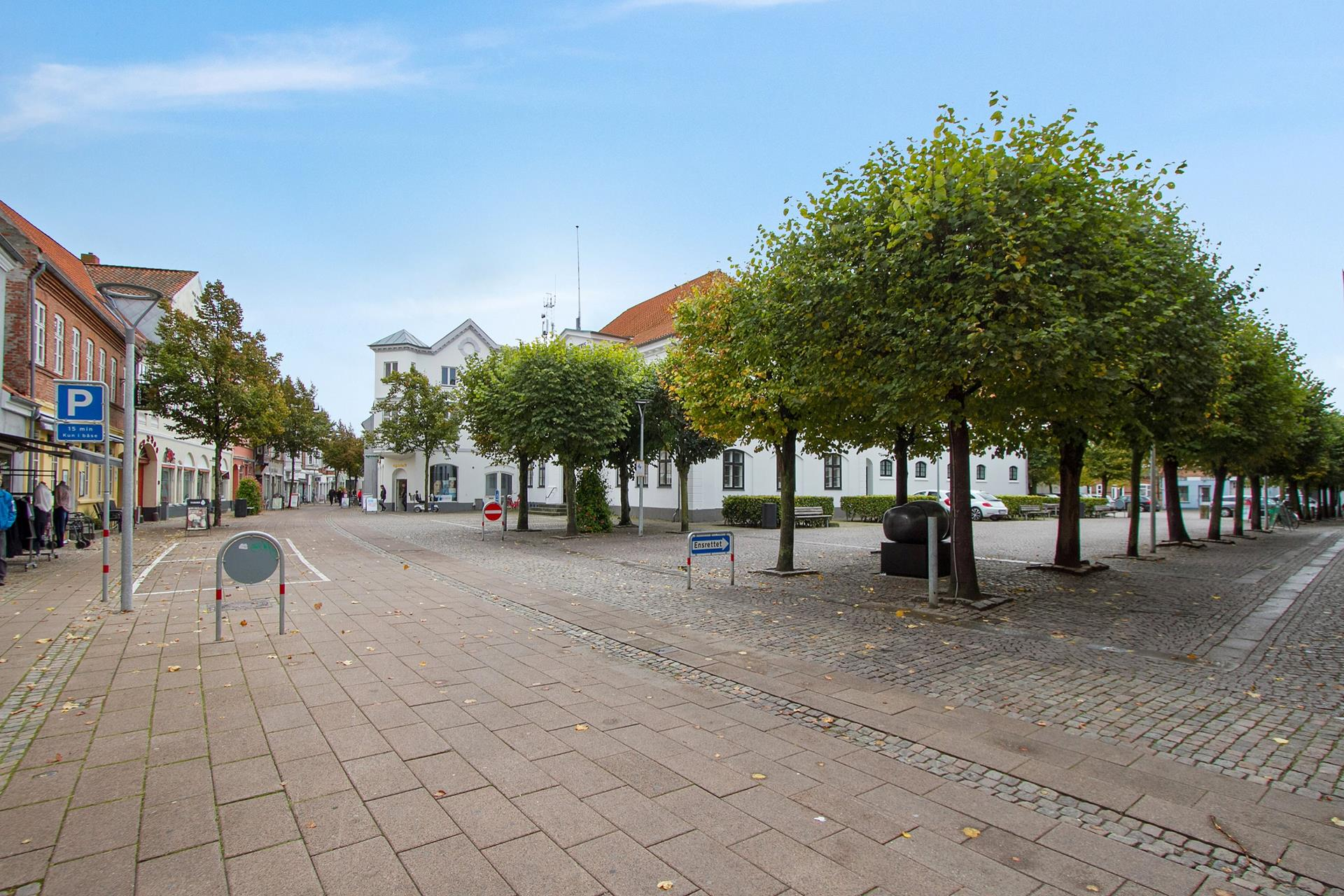 Bolig/erhverv på Algade i Korsør - Standard udendørs
