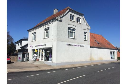 Bolig/erhverv på Hovedgaden i Høng - Ejendommen