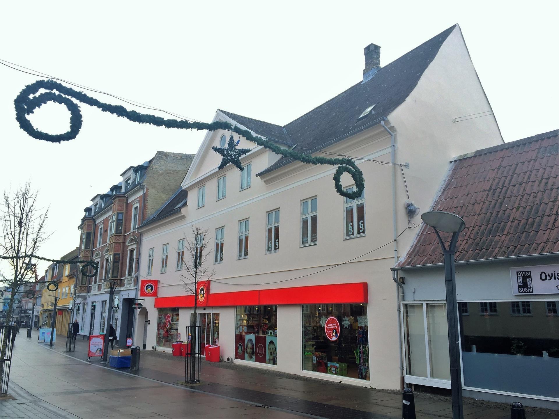 Detail på Kordilgade i Kalundborg - Facade