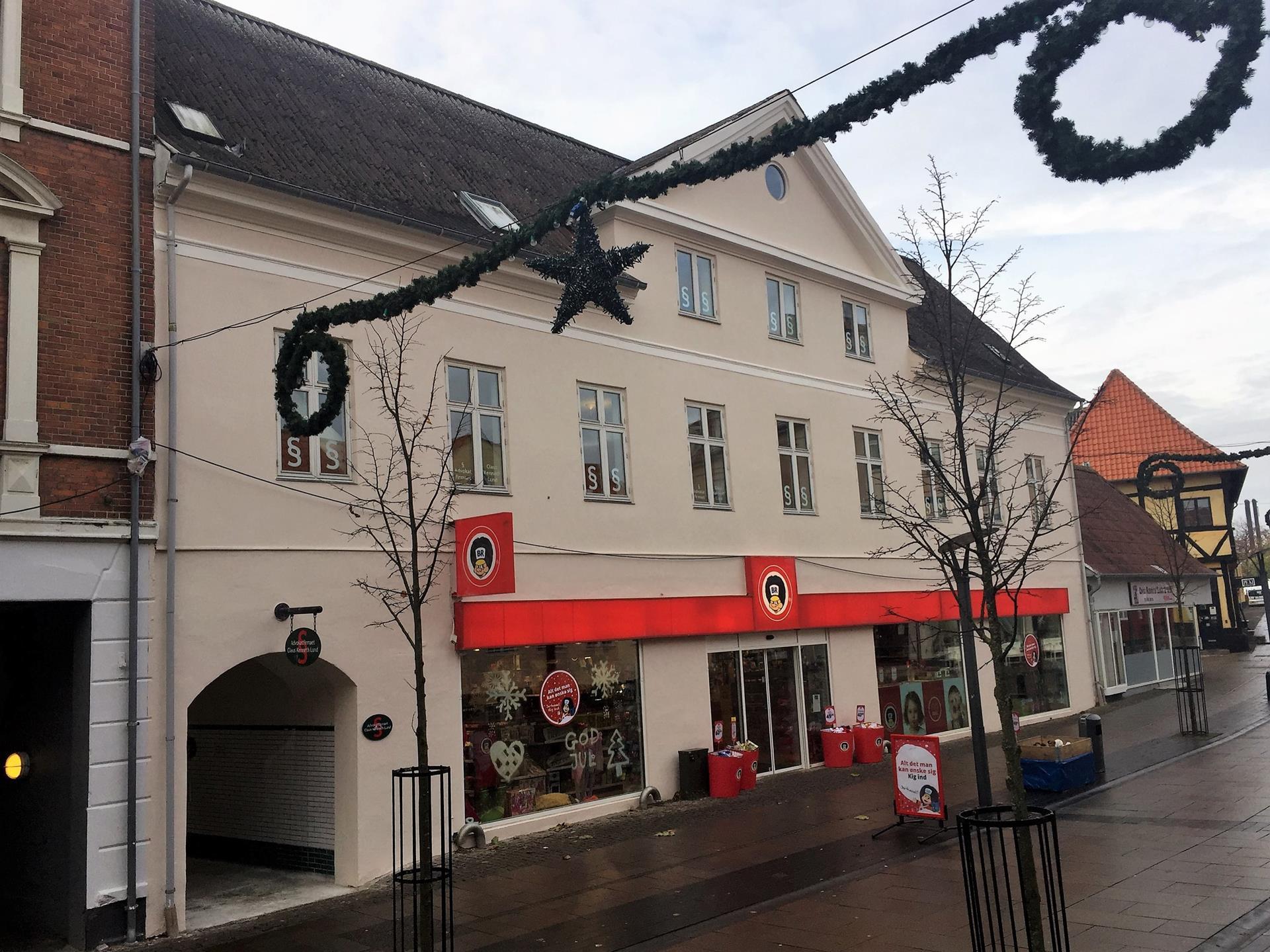Bolig/erhverv på Kordilgade i Kalundborg - Facade