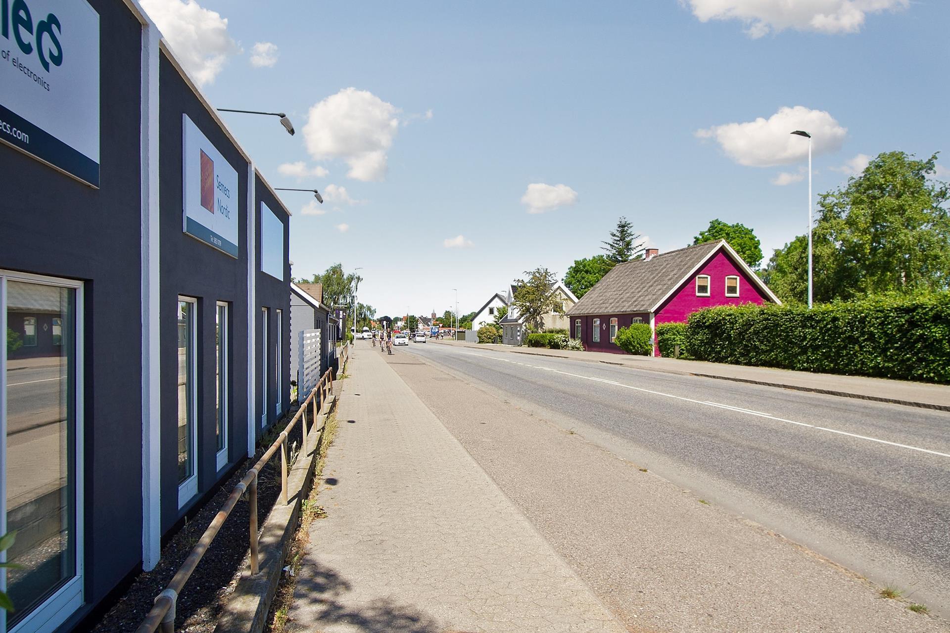 Boligudlejning på Korsørvej i Slagelse - Set fra vejen