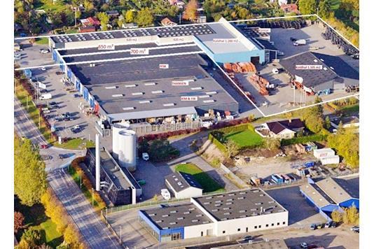 Andet på Industrivej i Sorø - Luftfoto