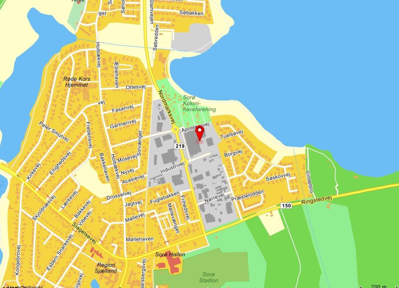 Andet på Industrivej i Sorø - Kort
