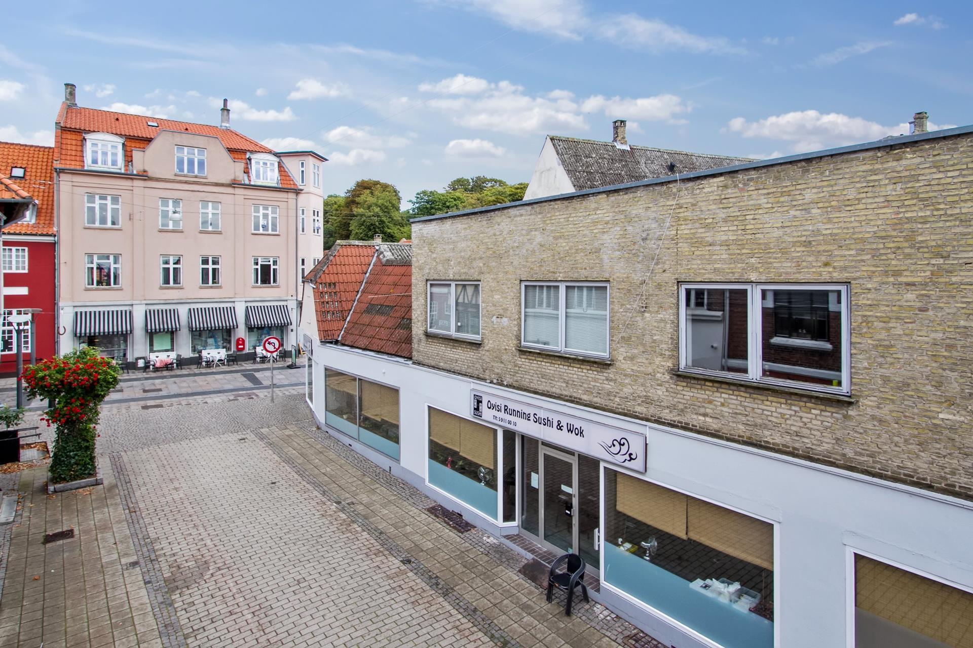 Boligudlejning på Kordilgade i Kalundborg - Facade