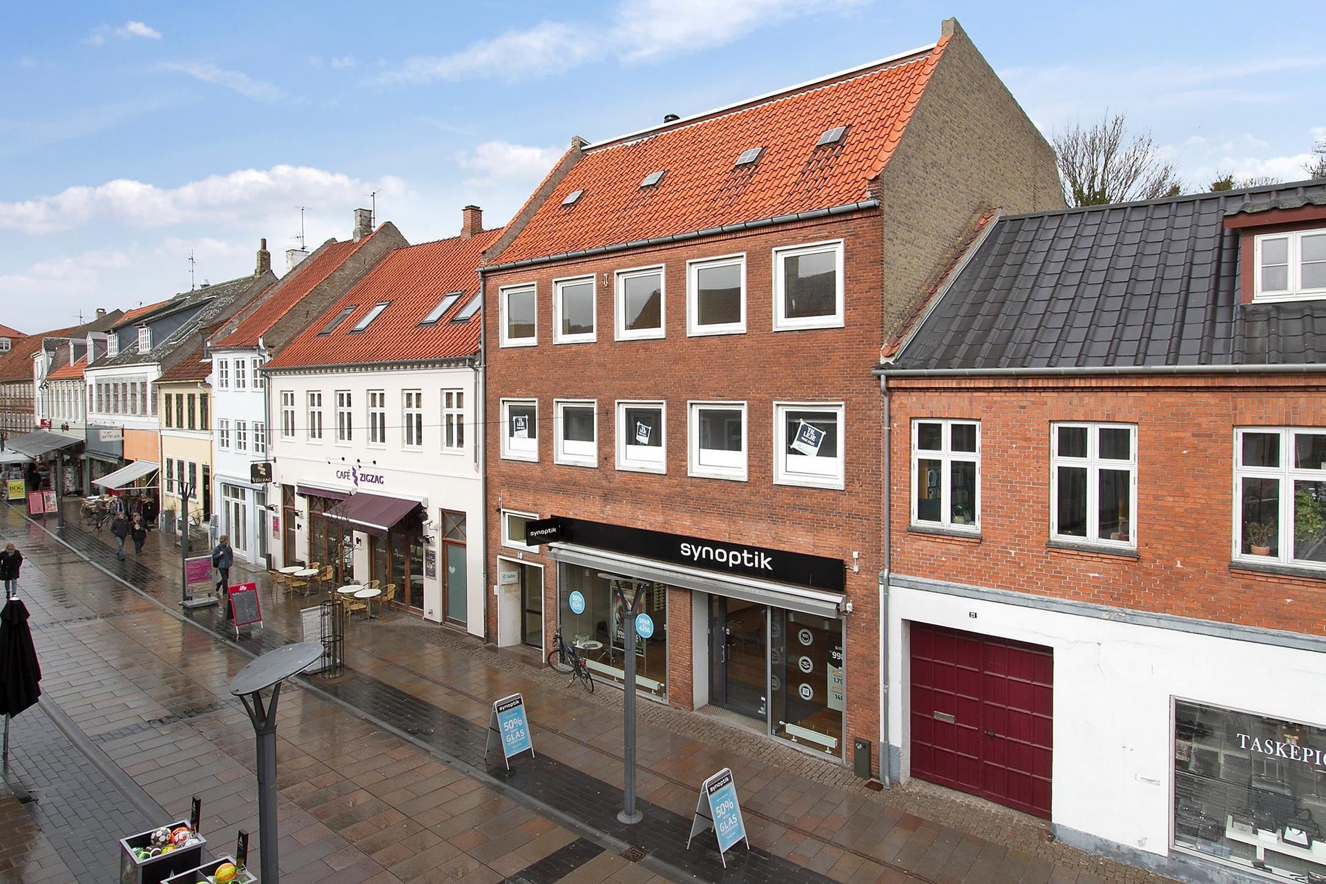 Bolig/erhverv på Kordilgade i Kalundborg - Ejendommen