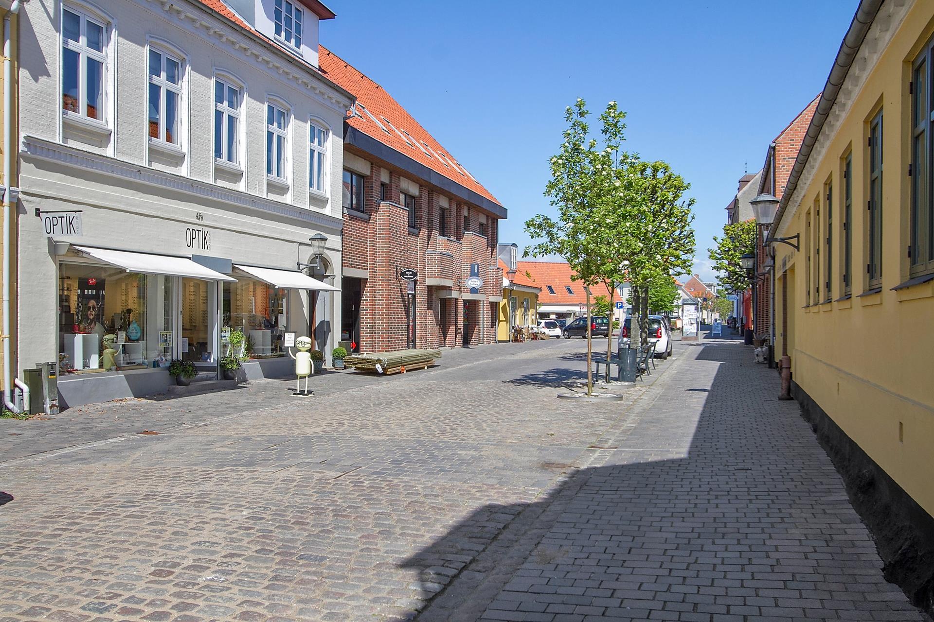 Bolig/erhverv på Algade i Skælskør - Udendørs