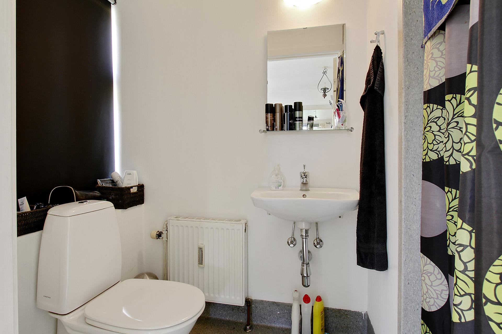 Bolig/erhverv på Algade i Skælskør - Toilet