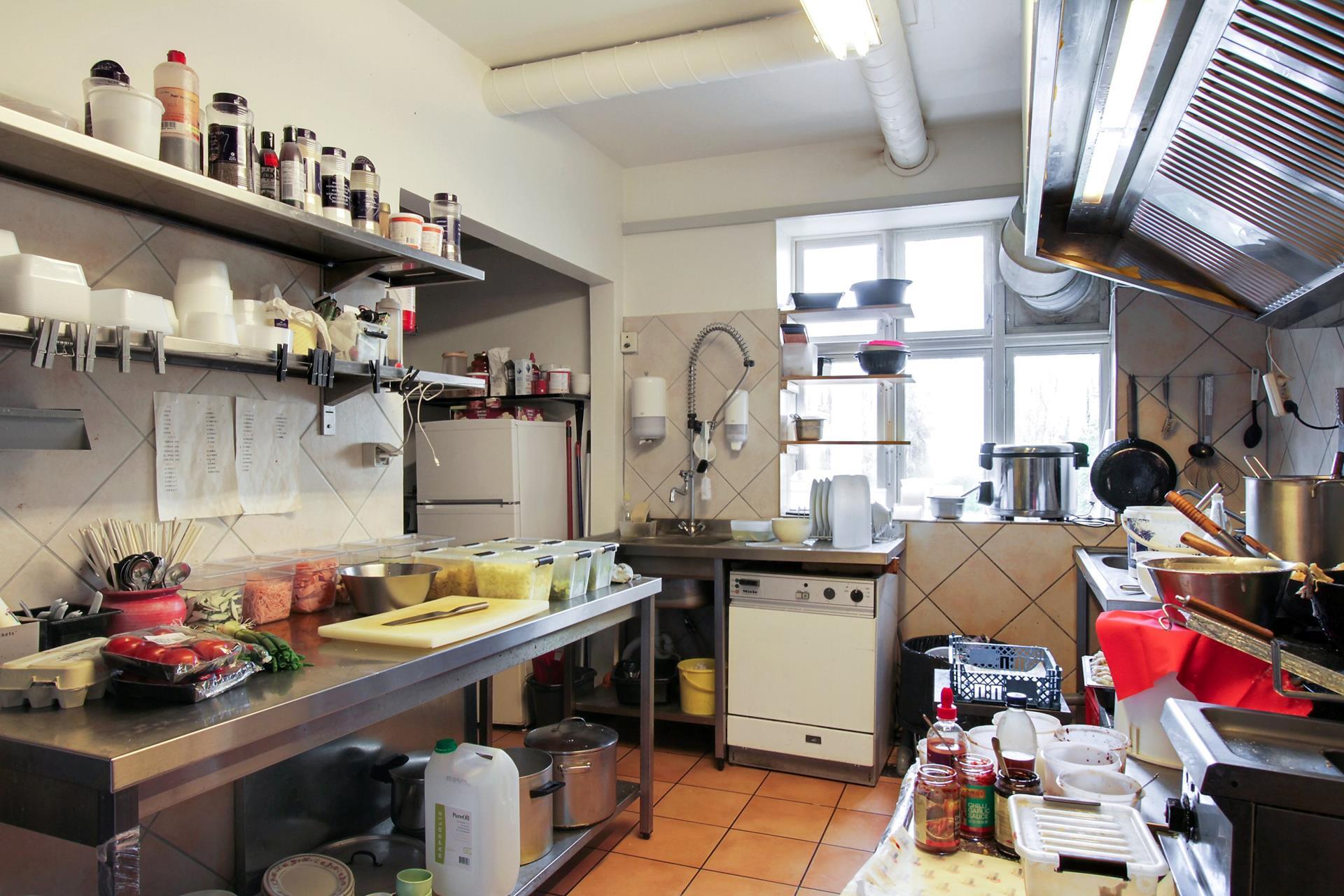 Boligudlejning på Algade i Skælskør - Køkken