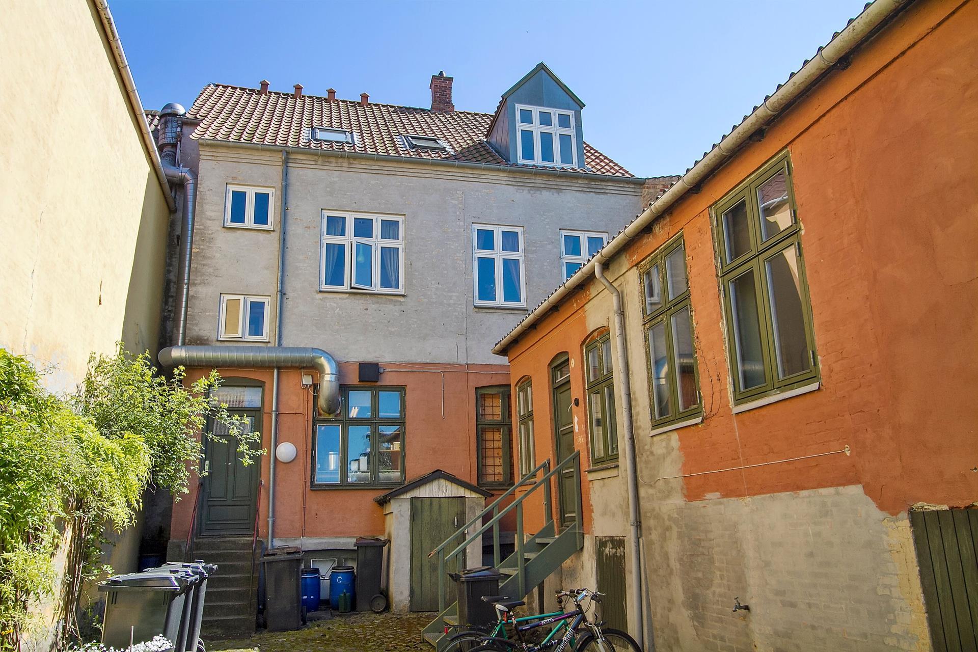 Boligudlejning på Algade i Skælskør - Gårdmiljø