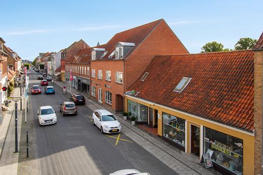 Bolig/erhverv på Nørregade i Ringsted - Ejendommen