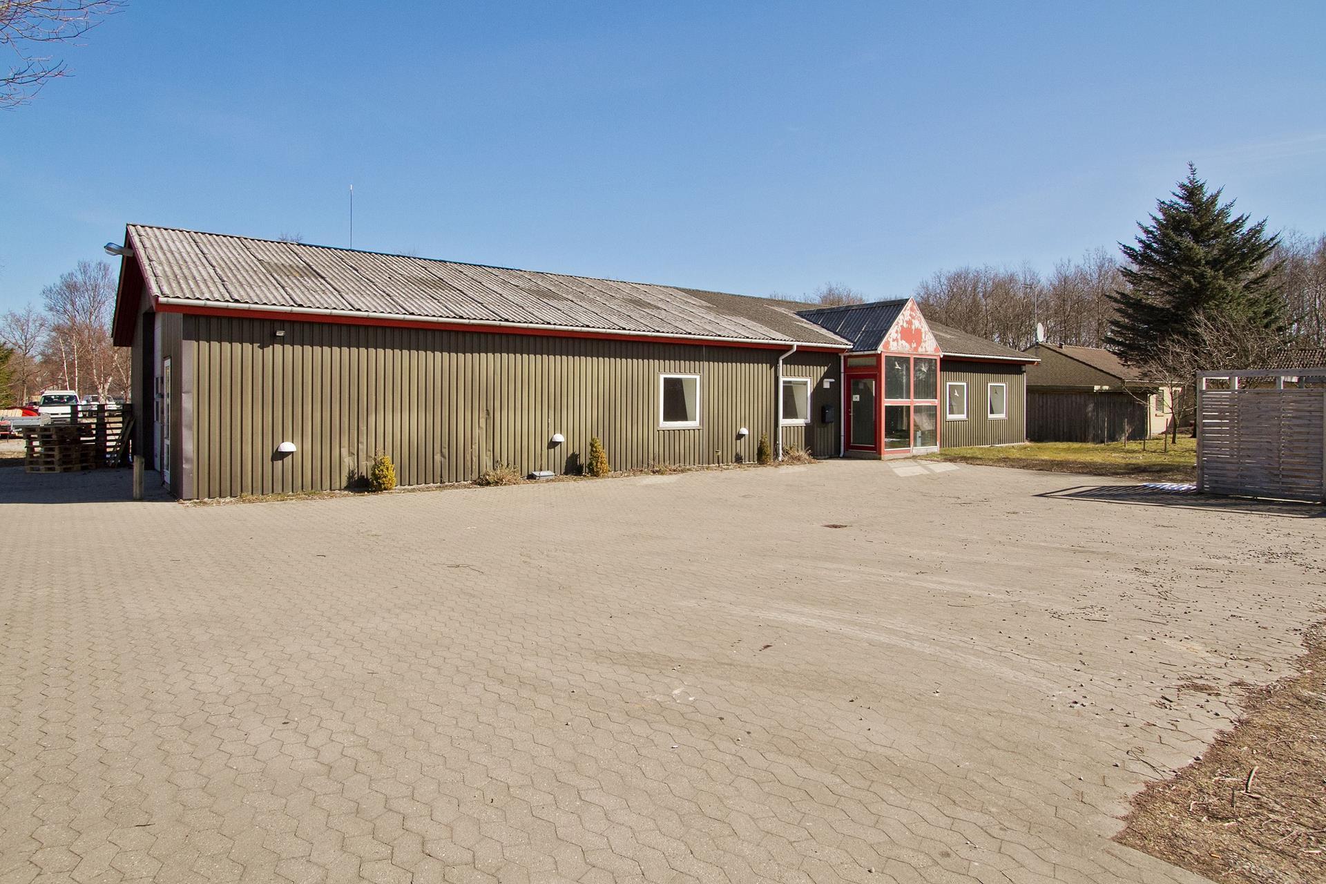 Bolig/erhverv på Langagervej i Kalundborg - Parkeringsareal