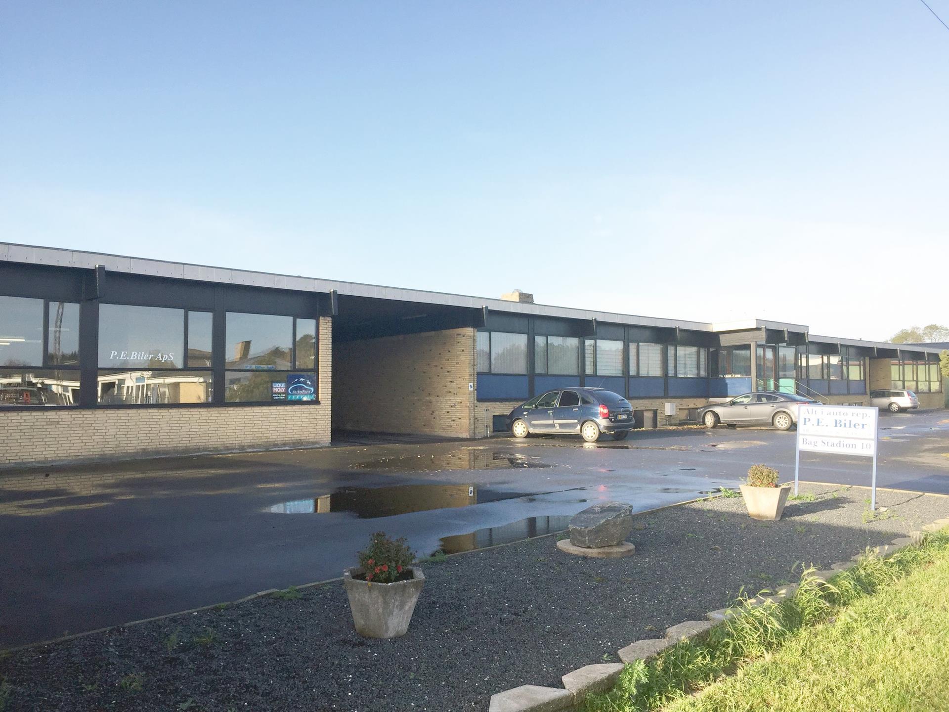 Bolig/erhverv på Bag Stadion i Korsør - Andet