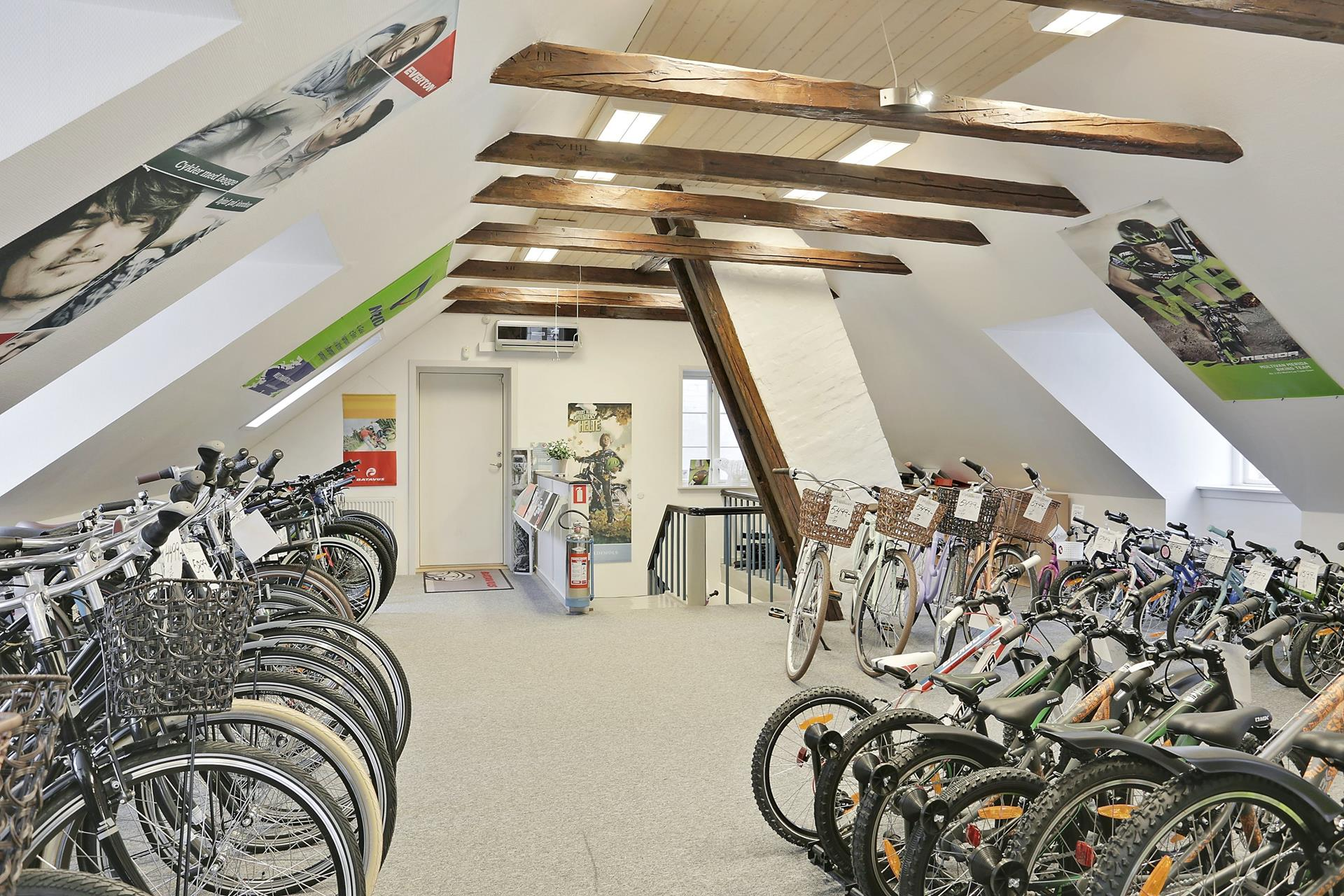 Detail på Rolighed i Sorø - Showroom