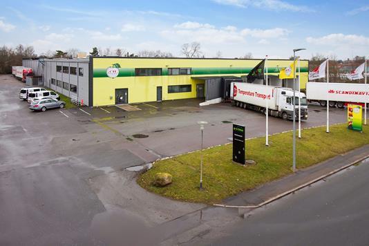 Produktion/lager på Karolinevej i Slagelse - Ejendommen