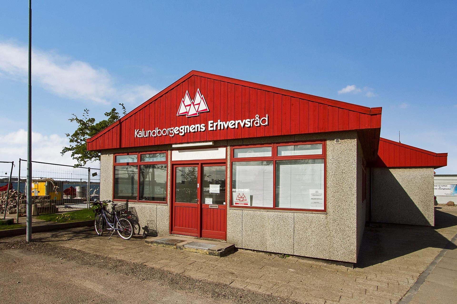 Andet på Vestre Havneplads i Kalundborg - Set fra vejen
