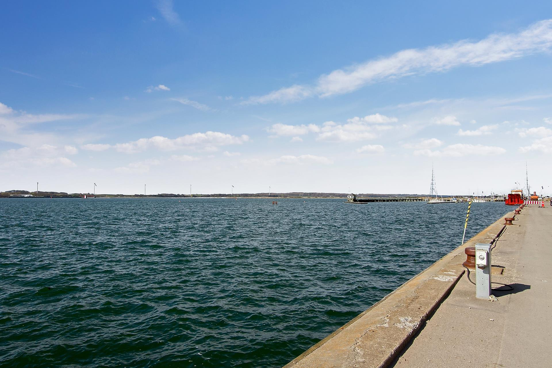 Detail på Vestre Havneplads i Kalundborg - Område