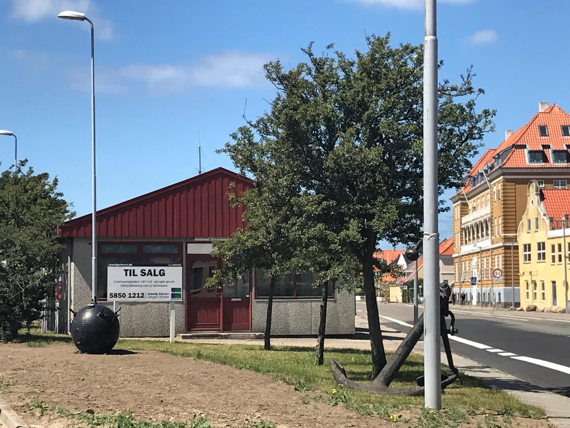Detail på Vestre Havneplads i Kalundborg - Andet