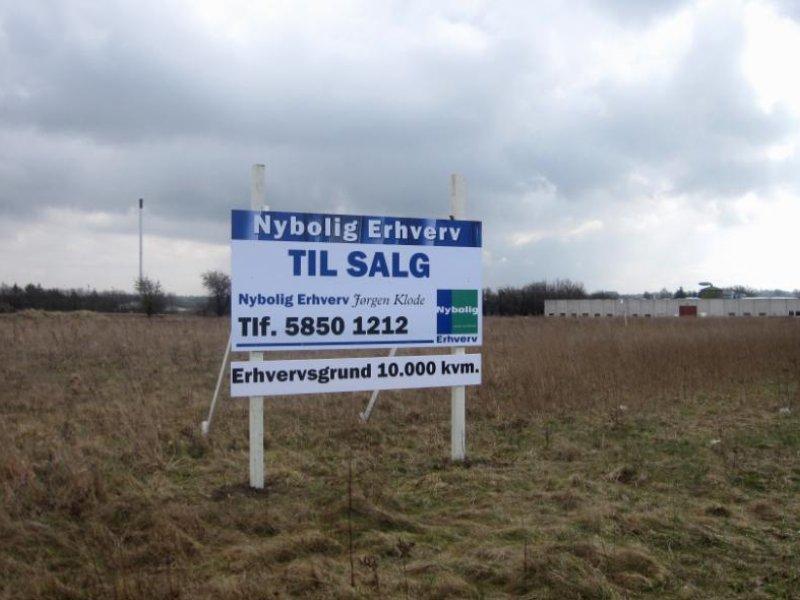 Erhvervsgrund på Sleipnersvej i Ringsted - Grund