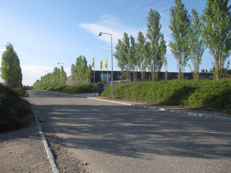 Erhvervsgrund på Trafikcenter Alle i Slagelse - Omgivelser