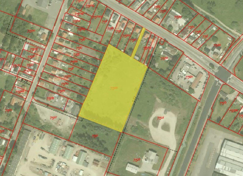 Erhvervsgrund på Asnæsvej i Kalundborg - Kort