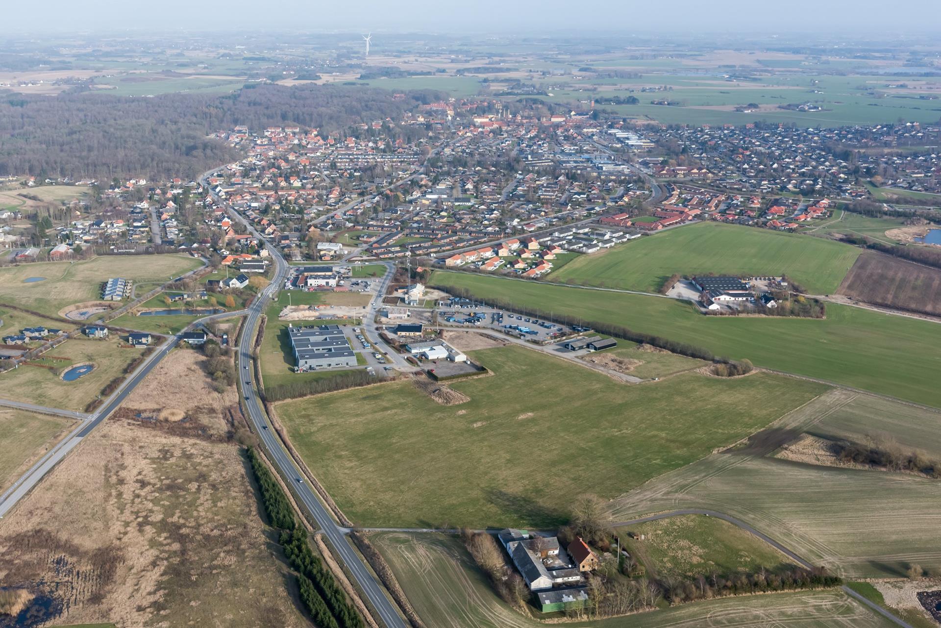 Erhvervsgrund på Industri Vest i Dianalund - Område