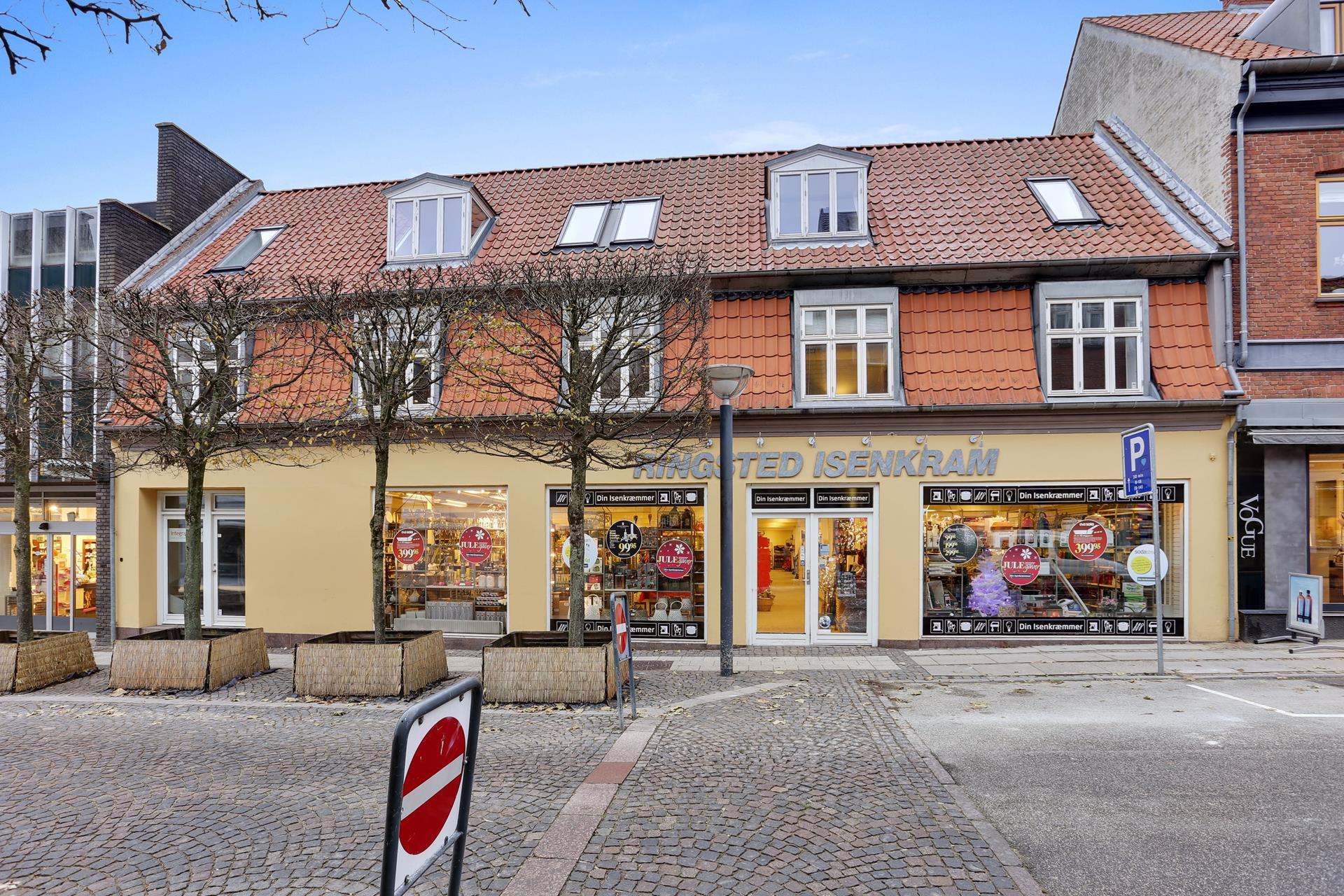 Detail på Sct Hansgade i Ringsted - Ejendommen