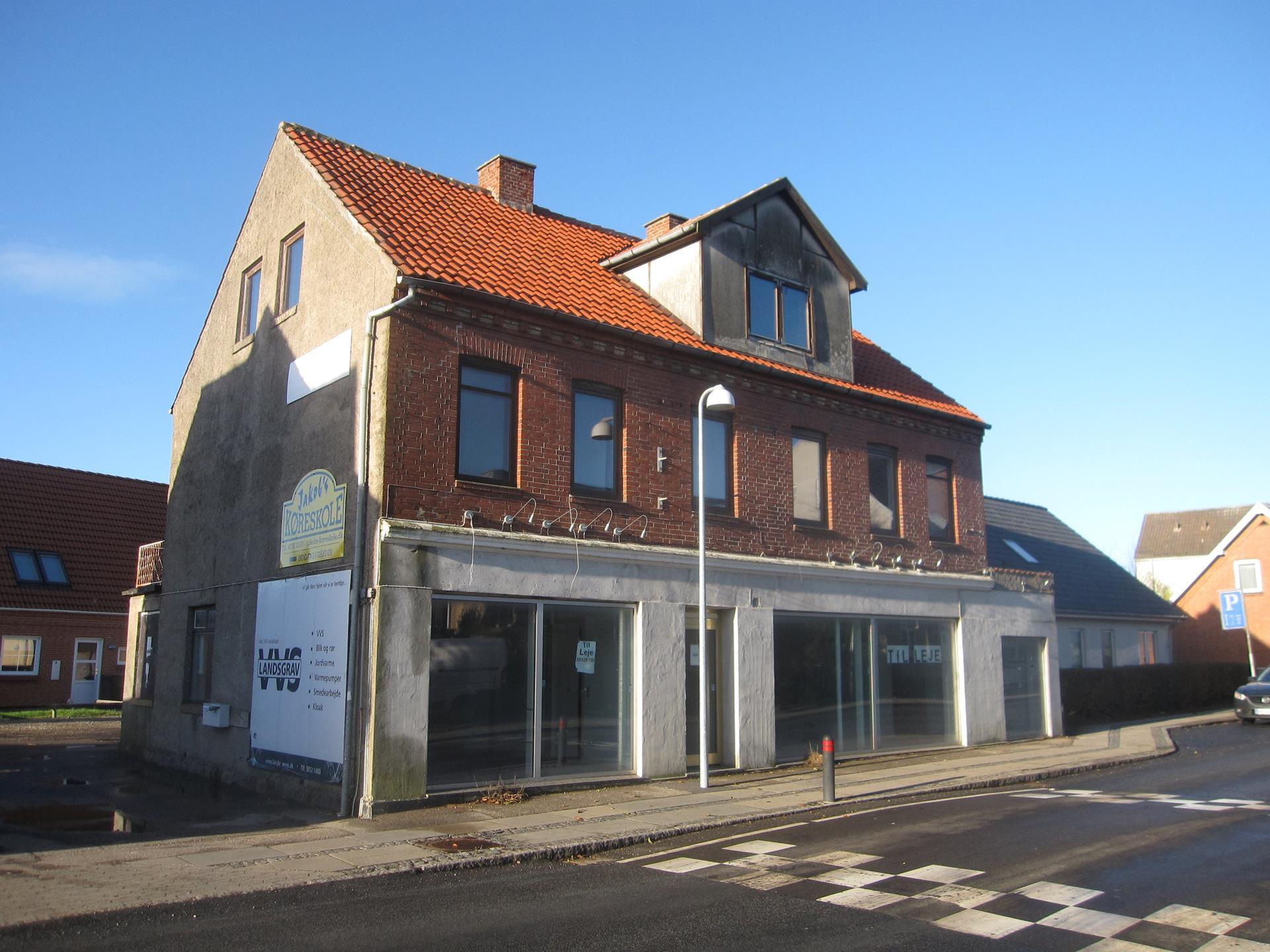 Detail på Hovedgaden i Høng - Andet