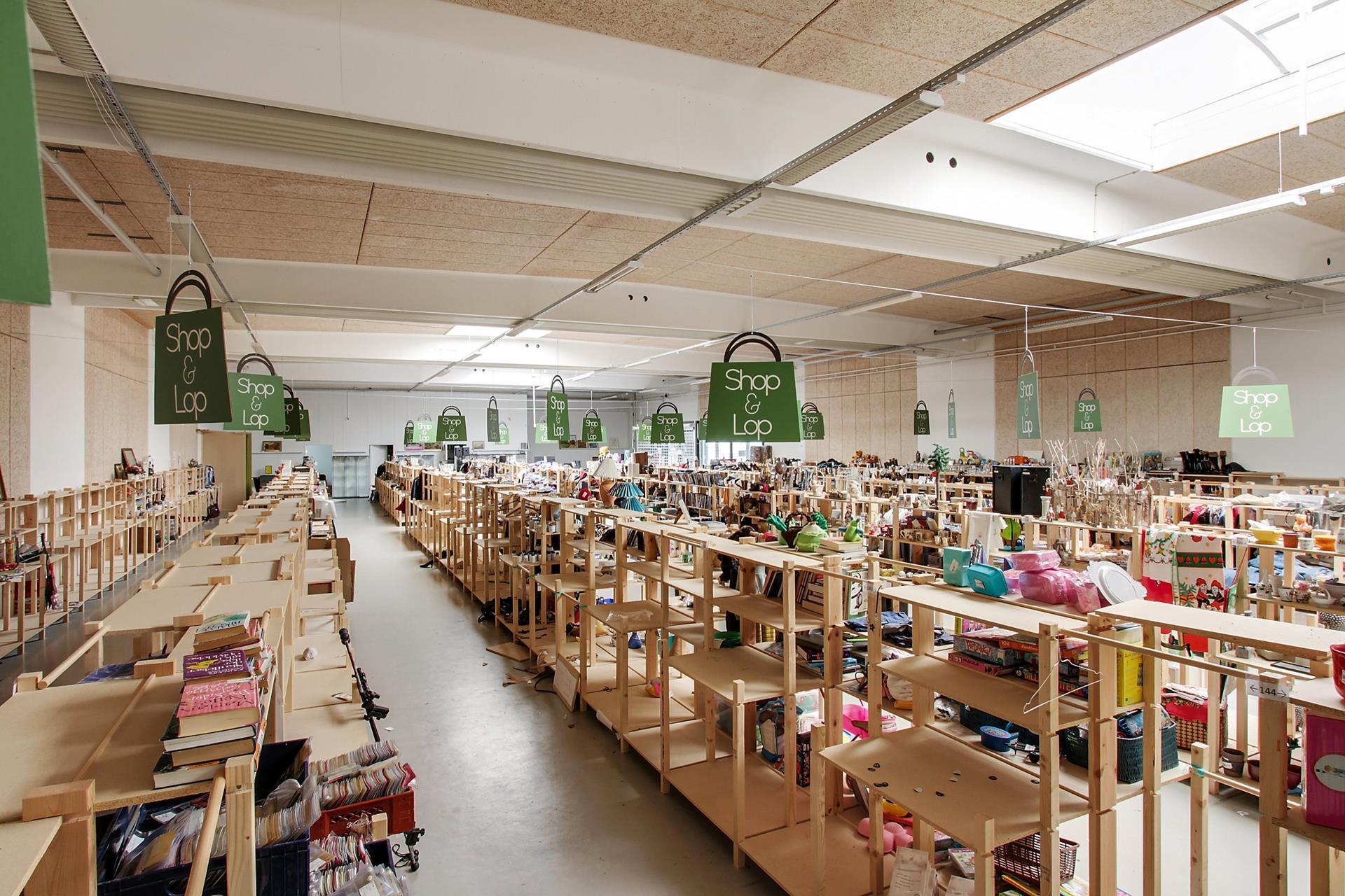 Detail på Kinavej i Slagelse - Butikslokale