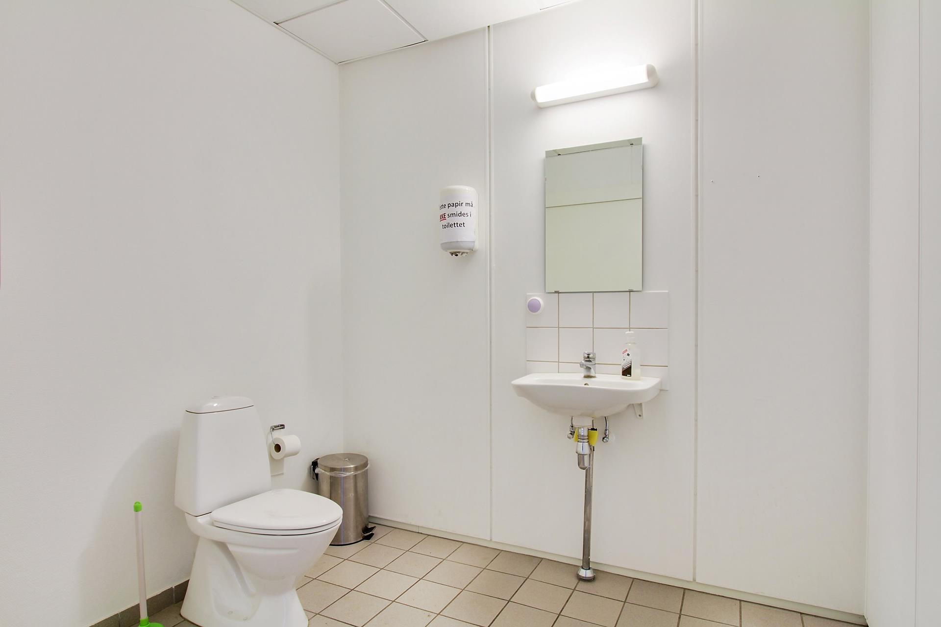 Detail på Kinavej i Slagelse - Toilet