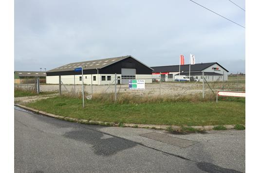 Produktion/lager på Vindrosen i Vordingborg - Ejendommen