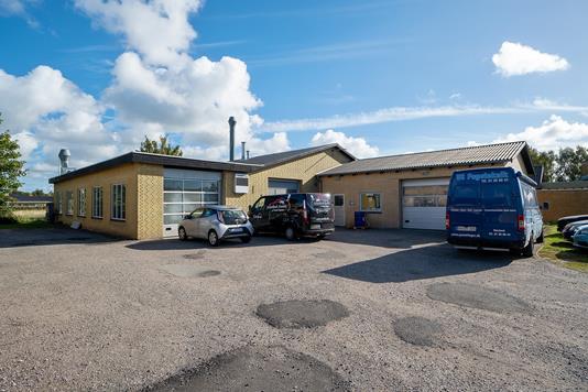 Produktion/lager på Birkevænget i Næstved - Ejendommen