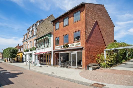 Bolig/erhverv på Algade i Vordingborg - Ejendommen