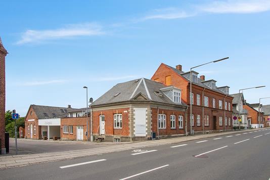 Bolig/erhverv på Indre Vordingborgvej i Næstved - Ejendommen