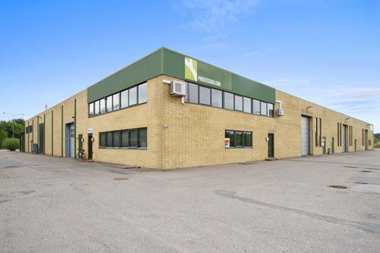 Produktion/lager på Fiskerhusvej i Næstved - Ejendommen