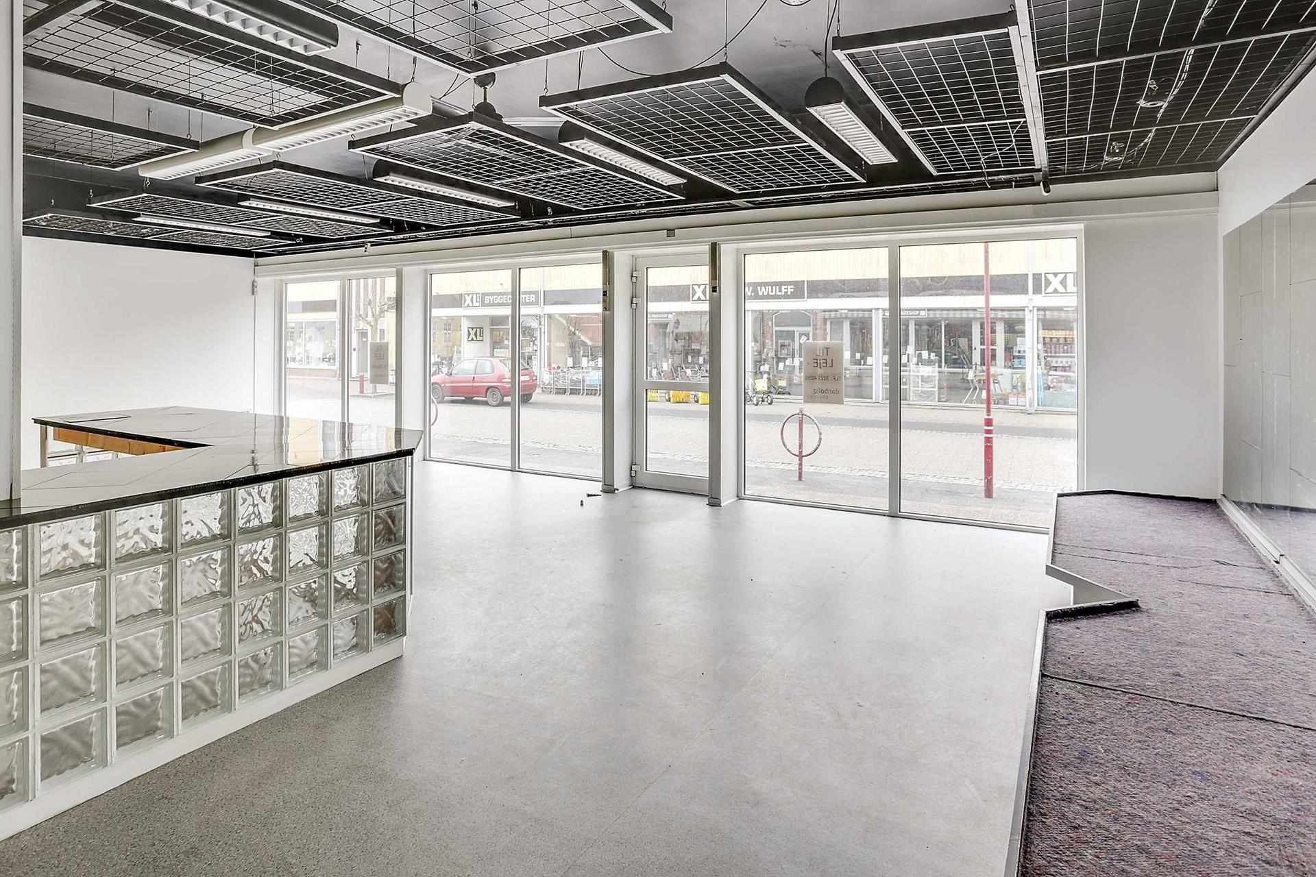 Bolig/erhverv på Vestergade i Stubbekøbing - Forretning