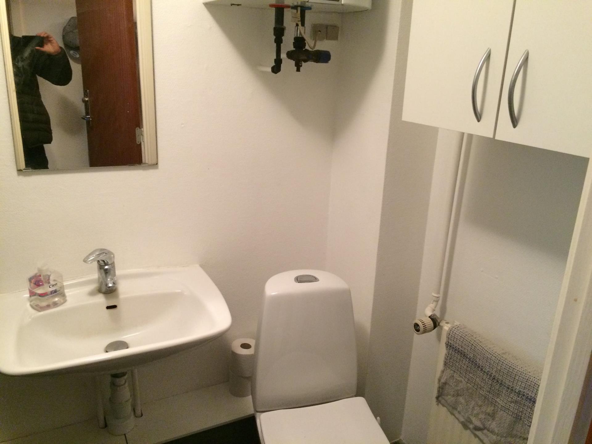 Bolig/erhverv på Langgade i Nykøbing F - Toilet