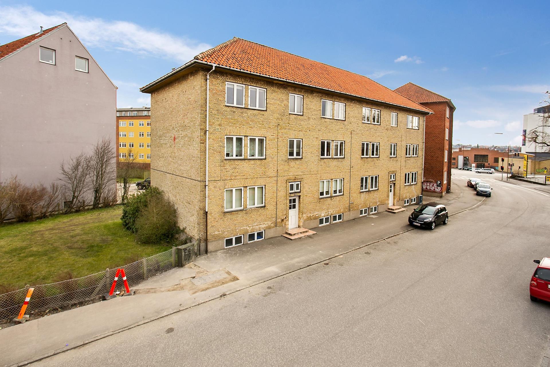 Boligudlejning på Toldbodgade i Næstved - Ejendommen