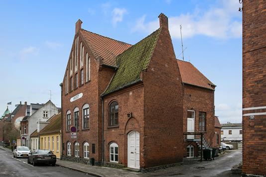 Projektejendom på Dronningensgade i Nykøbing F - Ejendommen