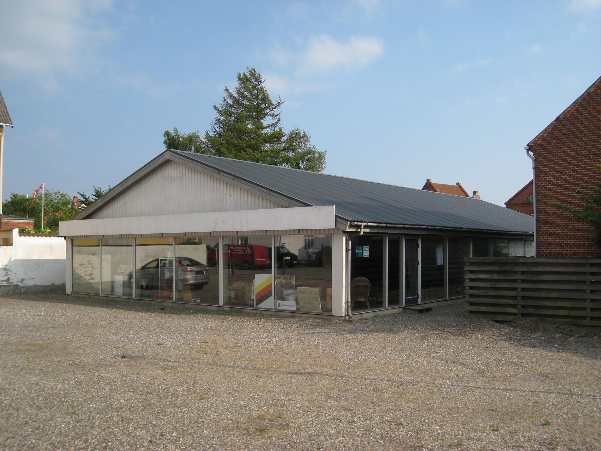Bolig/erhverv på Aarsleffsgade i Vordingborg - Ejendommen