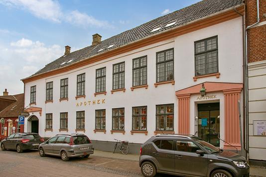 Detail på Algade i Vordingborg - Facade