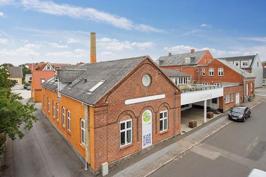 Kontor på Ågade i Næstved - Ejendommen