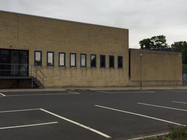Detail på Rådhustorvet i Vordingborg - Ejendommen