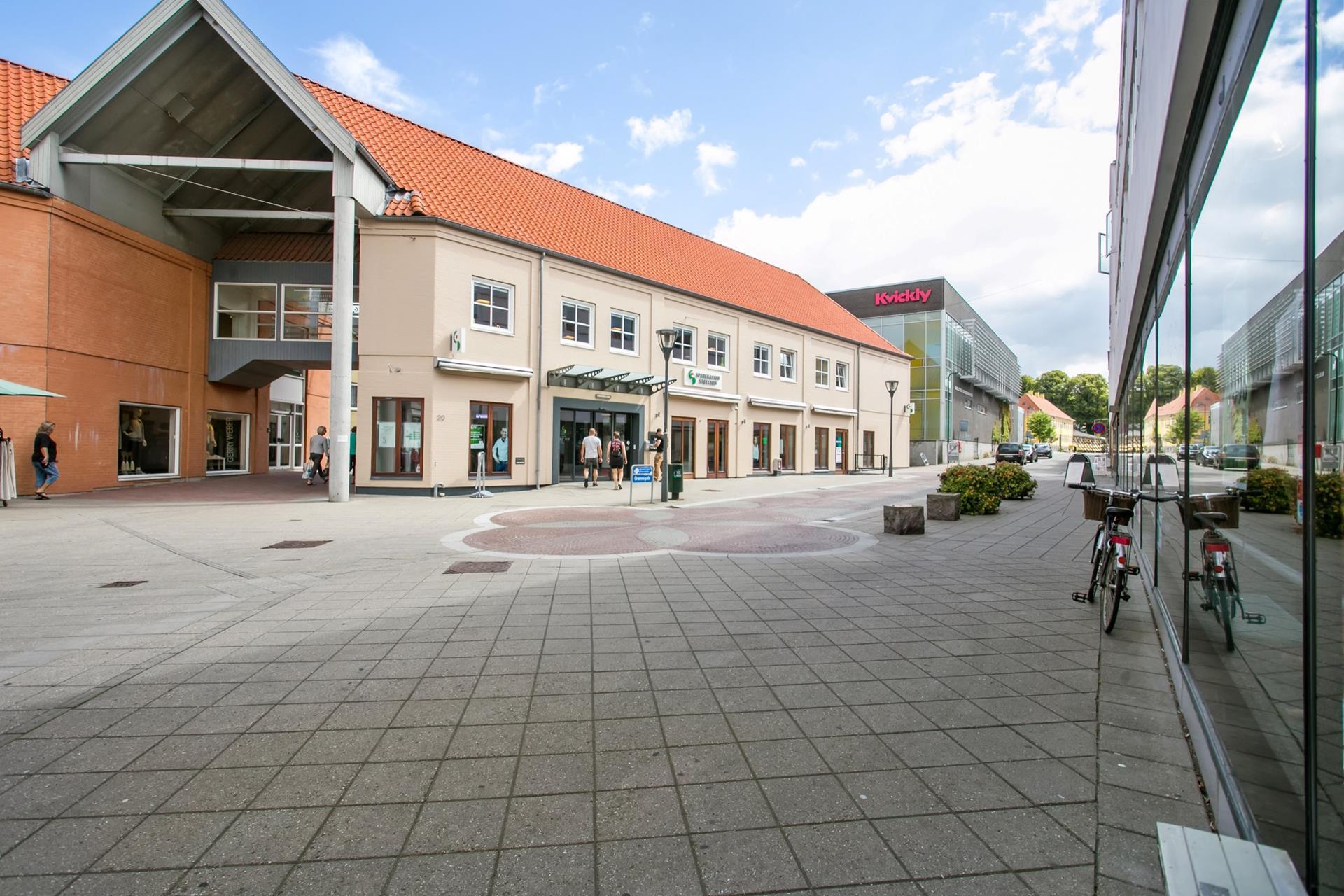 Detail på Ringstedgade i Næstved - Ejendommen