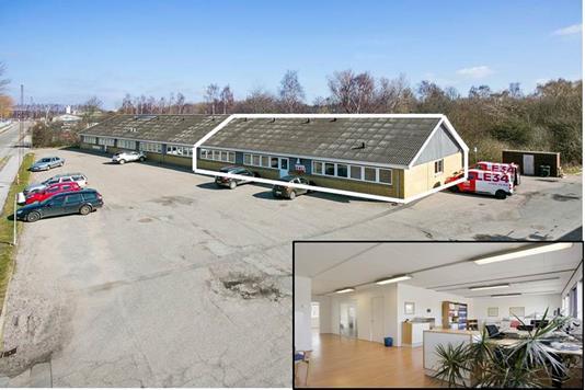 Kontor på Fiskerhusvej i Næstved - Ejendommen