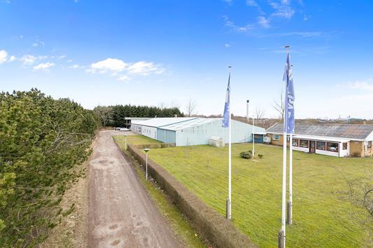 Produktion/lager på Fabriksvej i Vojens - Ejendommen