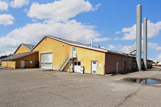Produktion/lager på Skovgårdvej i Vojens - Ejendommen
